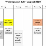 TrainingsplanCorona JuliAug